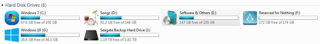 Change Windows Drive Icons